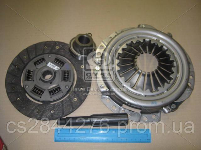 Сцепление ВАЗ 2121 (диск нажимной+ведомый+выжимная муфта ) (пр-во Пекар) 2121-1601000