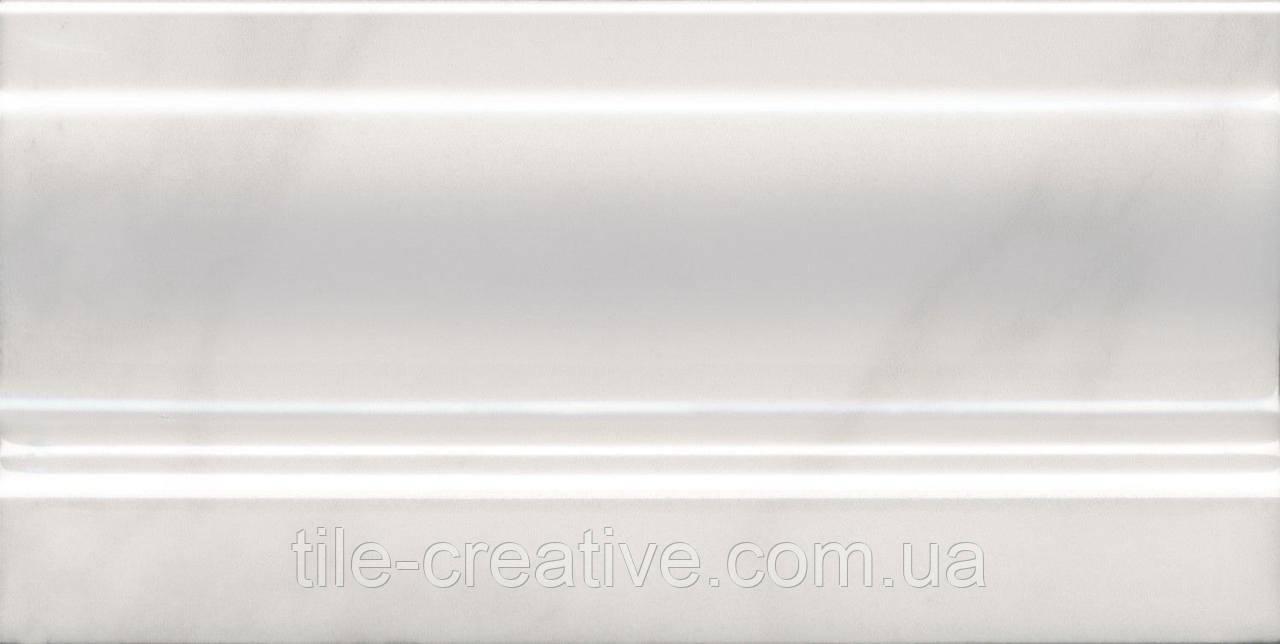 Керамическая плитка Плинтус Висконти белый 20x10x13 FMD020
