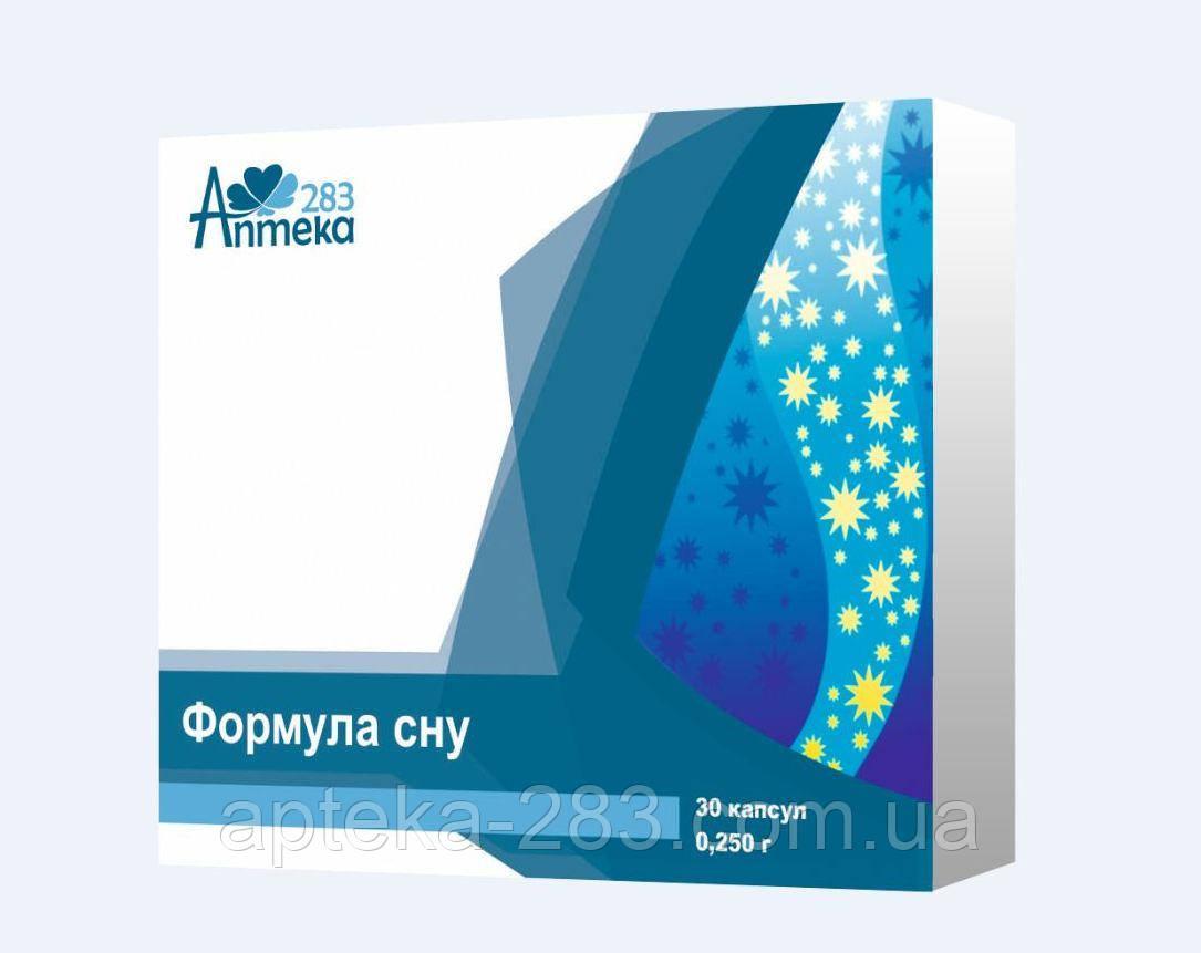 Формула сну капс 250 мг №30