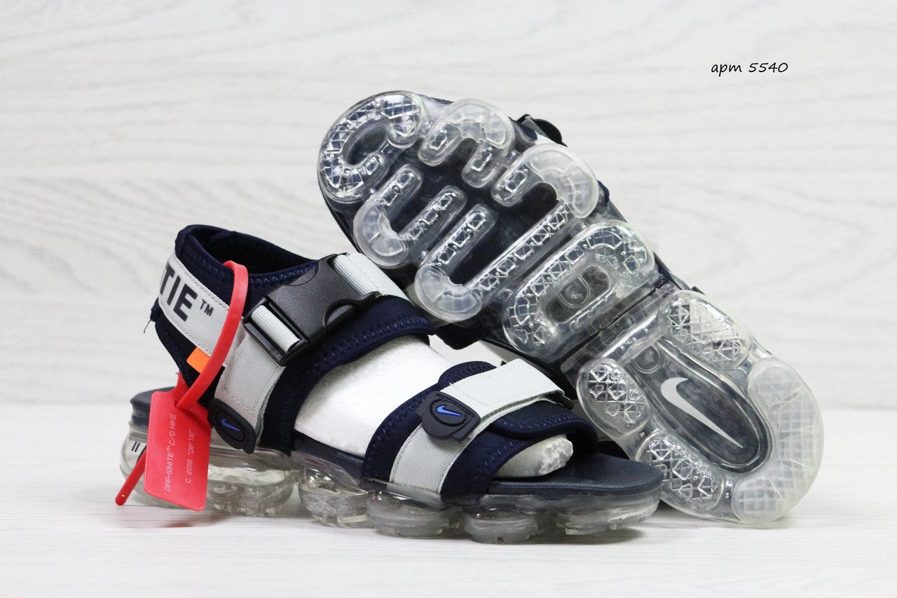 Мужские сандалии Nike Sandals off white x Nike Air Vapormax