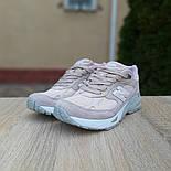 Женские кроссовки New Balance 991 замшевые пудра. Живое фото. Реплика, фото 5