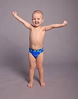 Детские купальные трусы для мальчиков (арт. 3904)  28-36р. голубые, фото 1