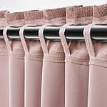 IKEA ANNAKAJSA Гардины, 1 пара, розовый, 145x300 см (804.629.97), фото 4