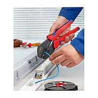 Обжимные клещи с магазином для смены плашек MultiCrimp® KNIPEX KN-973301 (KN-973301)