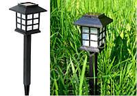 """Садовый светильник на солнечной батарее CAB121 """"Домик"""" газонный парковый, фото 1"""