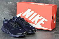 Зимние кроссовки Nike air presto замшевые,темно синие 46р, фото 1