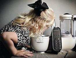 Пароварка-блендер Babymoov Nutribaby +  это отличное решение для здорового и вкусного питания ребёнка