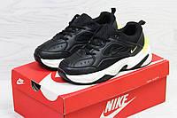 Женские,подростковые кроссовки Nike M2K Tekno,черные с белым 36р, фото 1