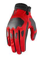 Мотоперчатки Icon Hooligan (красные), фото 1