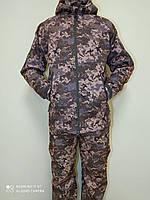 Тактическая куртка Пиксель ЗСУ (ММ-14) ВСУ Софтшелл Soft Shell Typhon (Тайфун) Непромокаемая