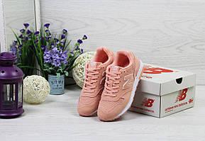 Женские кроссовки New Balance 1400,замшевые,персиковые 36,39р