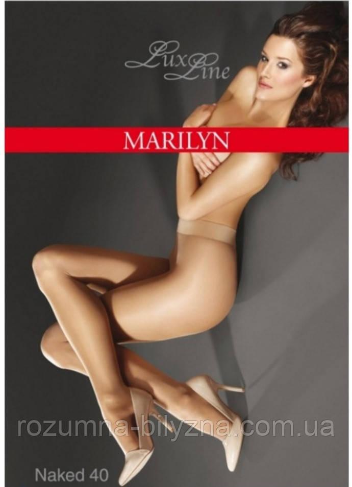 Колготки серії Lux Line в чорному кольорі 40 ден TM Marilyn 2. 3