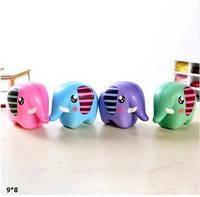 Сквиши (Squishy) BT-T-0167 слоник 4цв.кул.9*8 /200/