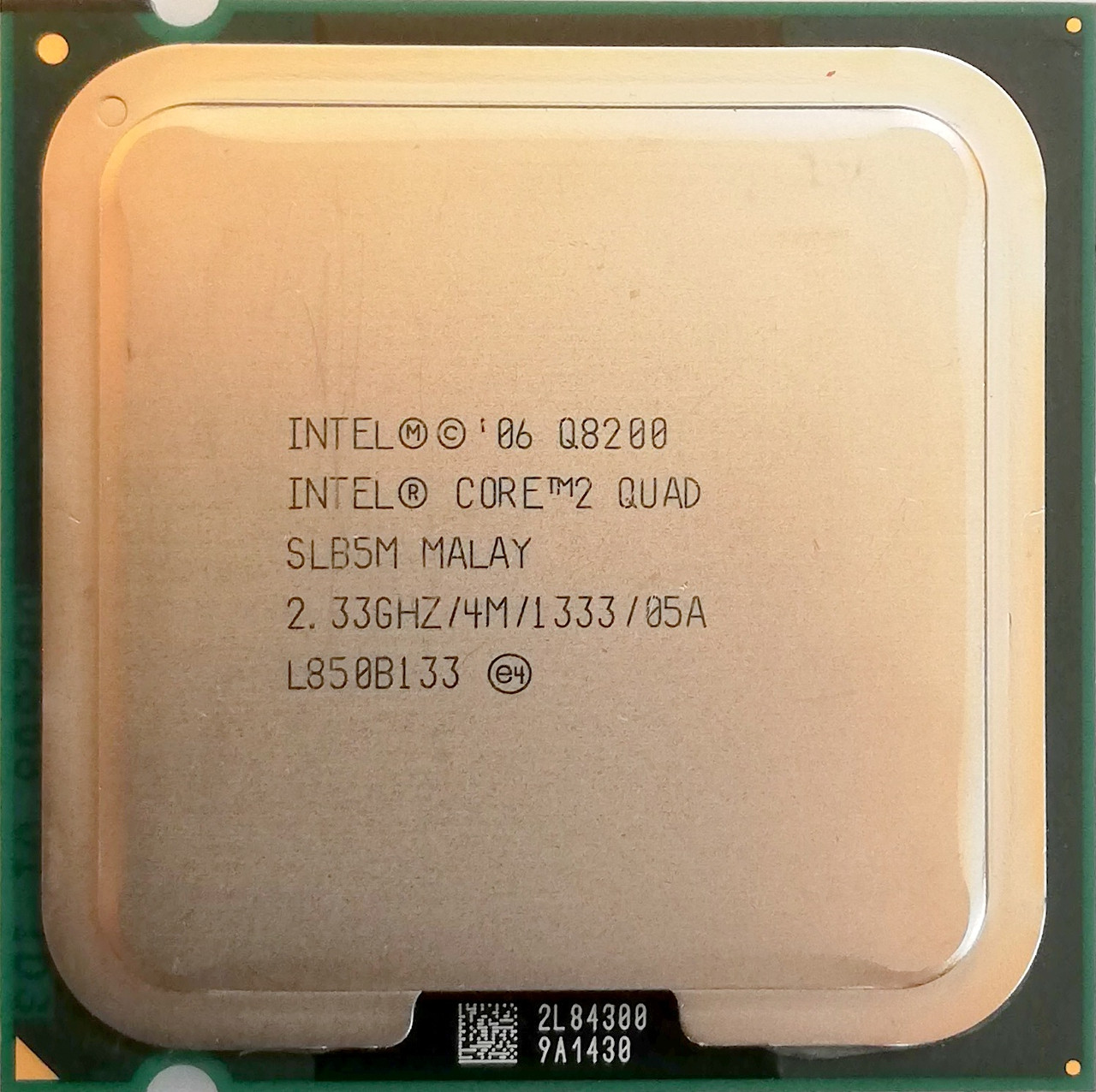 Процессор Intel Core 2 Quad Q8200 M1 SLB5M 2.33 GHz 4 MB Cache 1333 MHz FSB Socket 775 Б/У