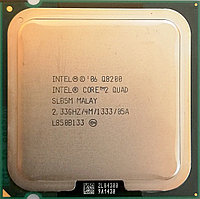 Процессор Intel Core 2 Quad Q8200 M1 SLB5M 2.33 GHz 4 MB Cache 1333 MHz FSB Socket 775 Б/У, фото 1