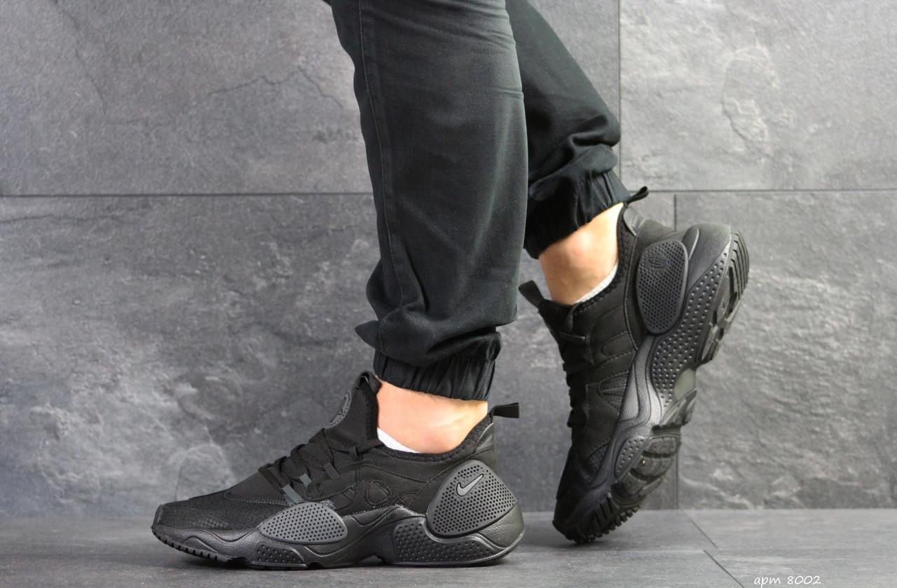 Мужские кроссовки Nike Air Huarache E.D.G.E,сетка,черные