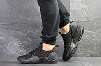 Мужские кроссовки Nike Air Huarache E.D.G.E,сетка,черные, фото 1