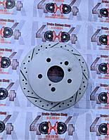Диск тормозной задний R1 CONCEPTS CARBON GEOMET TOYOTA LEXUS RX 350 II