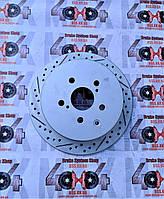 Диск тормозной задний R1 CONCEPTS CARBON GEOMET TOYOTA LEXUS RX 350 III