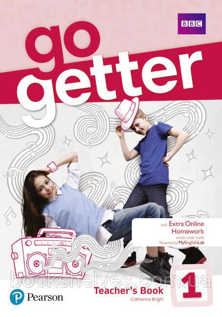 Книга для учителя  Go Getter 1 Teacher's book + DVD