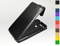 Откидной чехол из натуральной кожи для Huawei Honor View 20