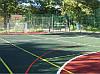 Резиновое напольное наливное покрытие ALFLOR для спортивных площадок