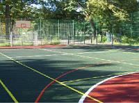 Резиновое напольное наливное покрытие ALFLOR для спортивных площадок, фото 1