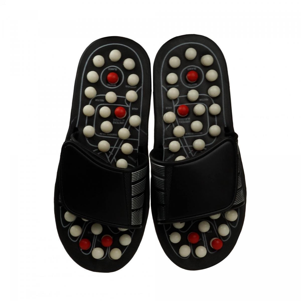 Рефлекторные массажные тапочки, XL (44-45 размер)