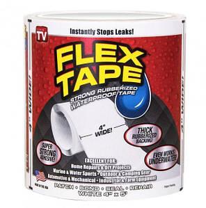 Водонепроницаемая изоляционная лента Flex Tape, белый