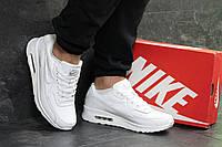 Мужские кроссовки Nike air max,белые 44р, фото 1