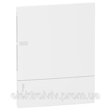 Щит Schneider Electric Mini Pragma 24 мод., 2 ряд., встраиваемый, клеммник (белый), фото 2