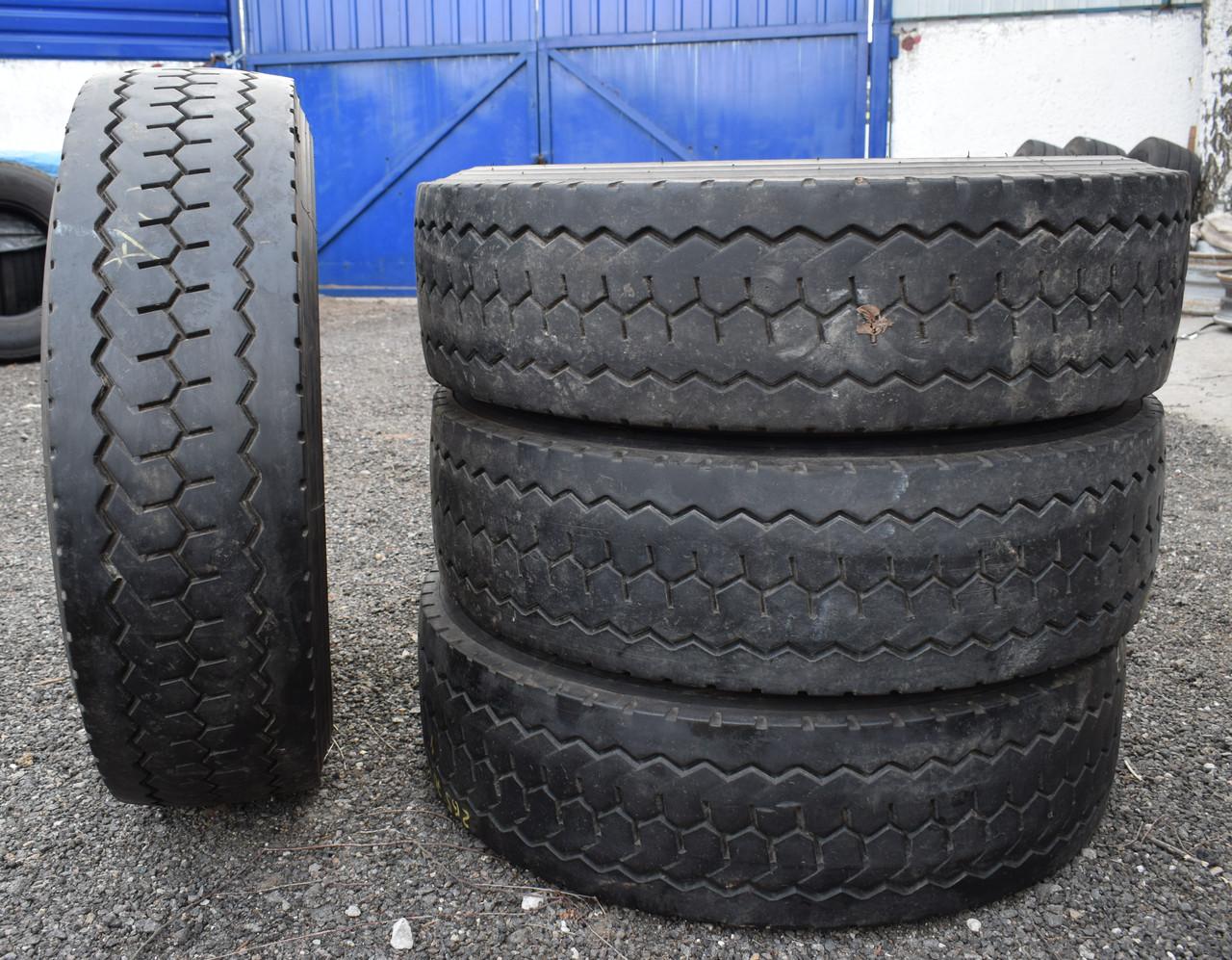 Вантажні шини б/у 265/70 R19.5 Double Coin RLB490, комплект