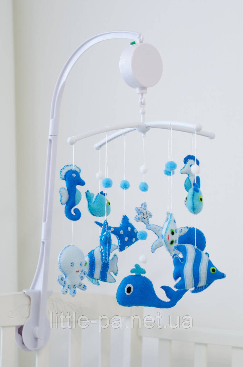 """Мобиль для детской кроватки """"Море"""""""