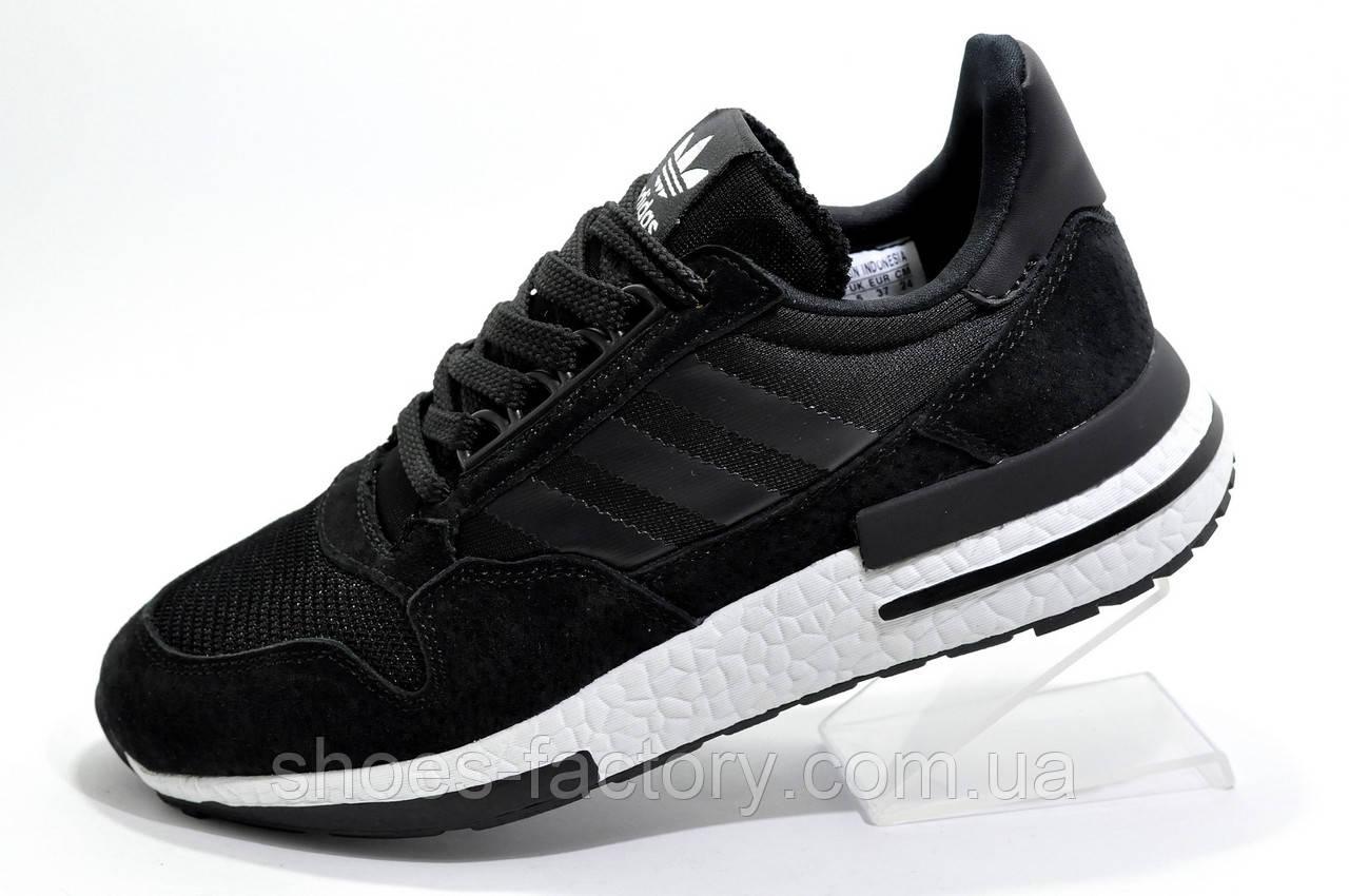 Мужские кроссовки в стиле Adidas ZX 500 RM Boost, Black\White
