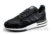Мужские кроссовки в стиле Adidas ZX 500 RM Boost, Black\White, фото 2