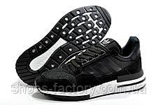 Мужские кроссовки в стиле Adidas ZX 500 RM Boost, Black\White, фото 3