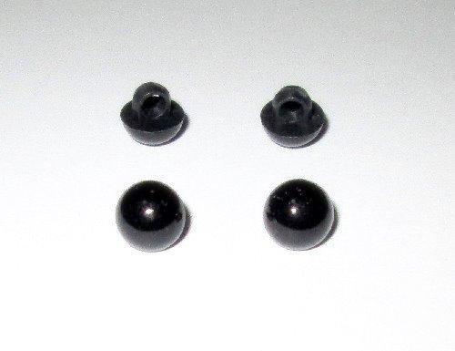Пришивные глазки для игрушек 8 мм