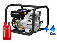 Мотопомпа для грязной воды Hyundai HYT 83 LPG