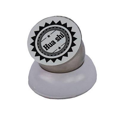 Магнитный держатель для телефона в авто, белый