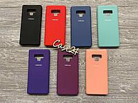Чехол Soft touch для Samsung Galaxy Note 9 (7 цветов)