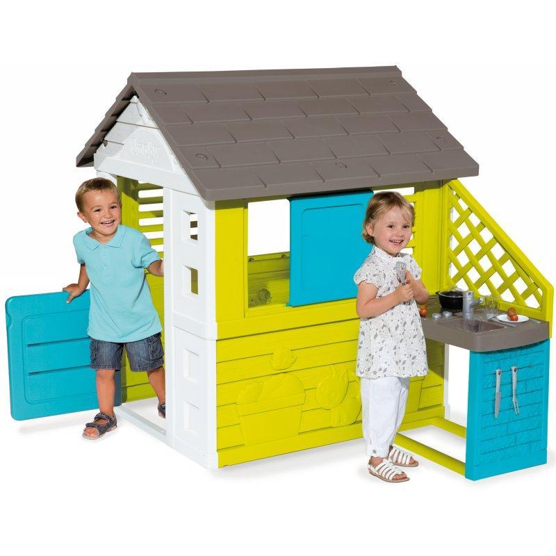 Игровой домик с кухней Smoby 810711