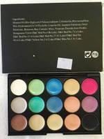 Палитра кремовых теней для повседневного макияжа (15 цветов) MAC P15