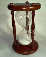 Песочные часы в корпусе из дерева - 60 мин.