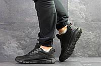 Мужские кроссовки Nike Free Run 7.0,сетка,черные 41р, фото 1