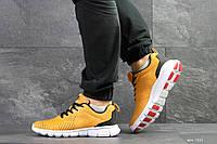Мужские кроссовки Nike Free Run 7.0,сетка,желтые, фото 1