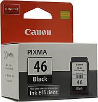 Картридж CANON (PG-46) Pixma E404/E464 Black (9059B001)