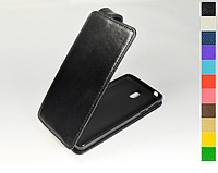 Откидной чехол из натуральной кожи для Nokia 1 Plus