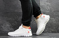 Мужские кроссовки Reebok Sublite,кожаные,белые, фото 1