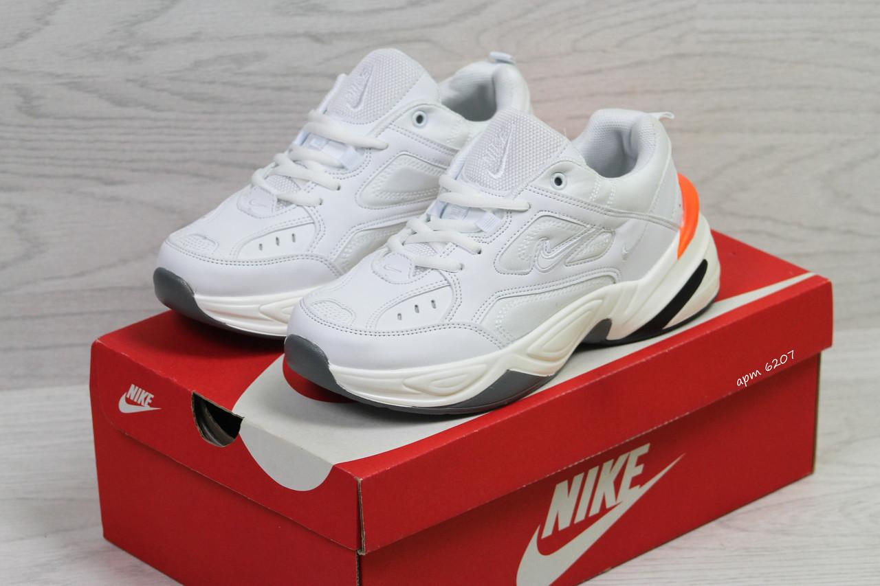 Женские,подростковые кроссовки Nike M2K Tekno,белые