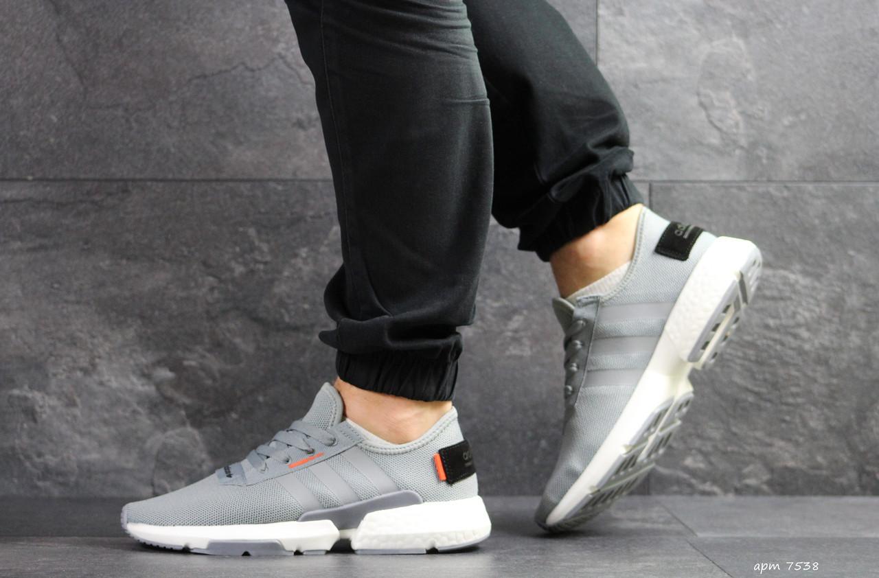 Мужские кроссовки Adidas POD-S3.1,серые 46р